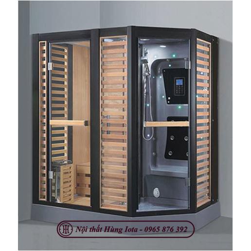 Phòng xông hơi khô kết hợp ướt cao cấp giá tốt HIP-D8875(L/R)