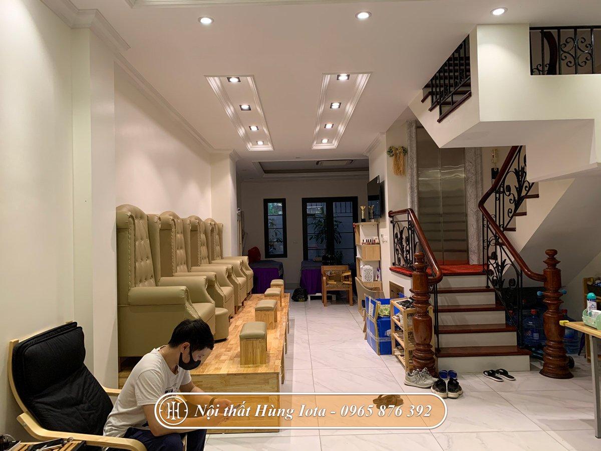 Thiết kế nội thất nail trọn gói theo yêu cầu
