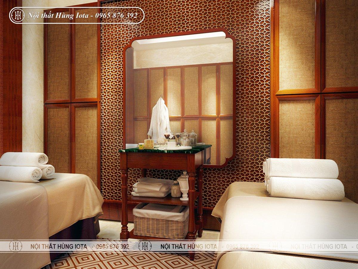 Thiết kế phòng massage body thư giãn