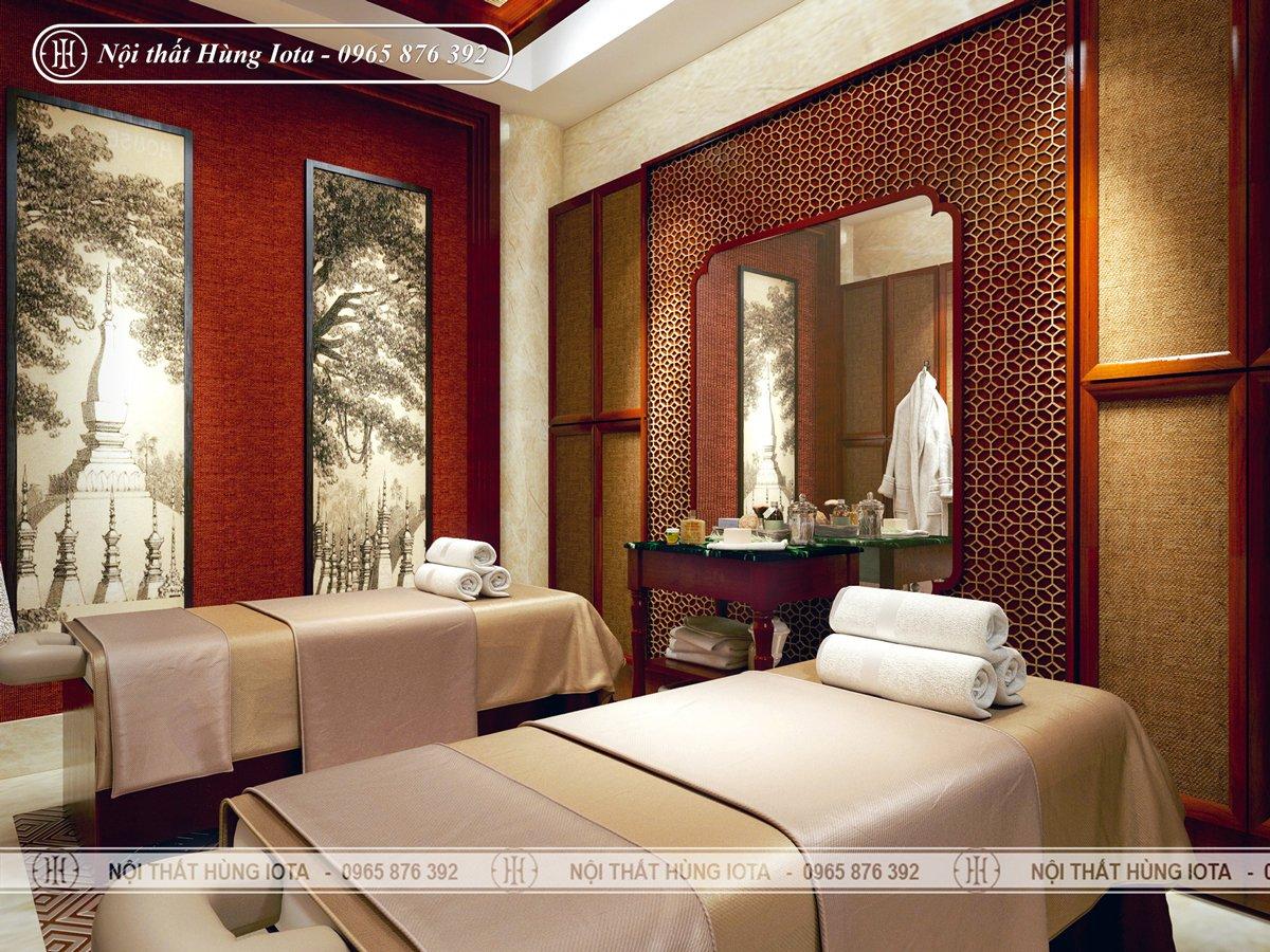 Thiết kế phòng spa, phòng massage body đẹp