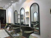 Gương vòm cắt tóc màu xám đẹp giá rẻ GCT46