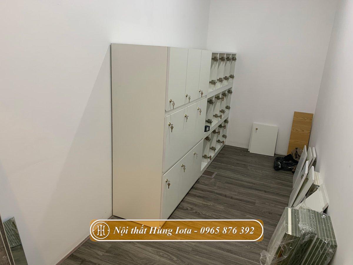 Tủ đựng đồ cho nhân viên và khách hàng
