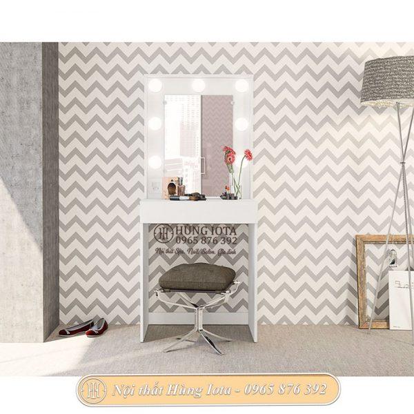 Bàn trang điểm decor cho phòng ngủ