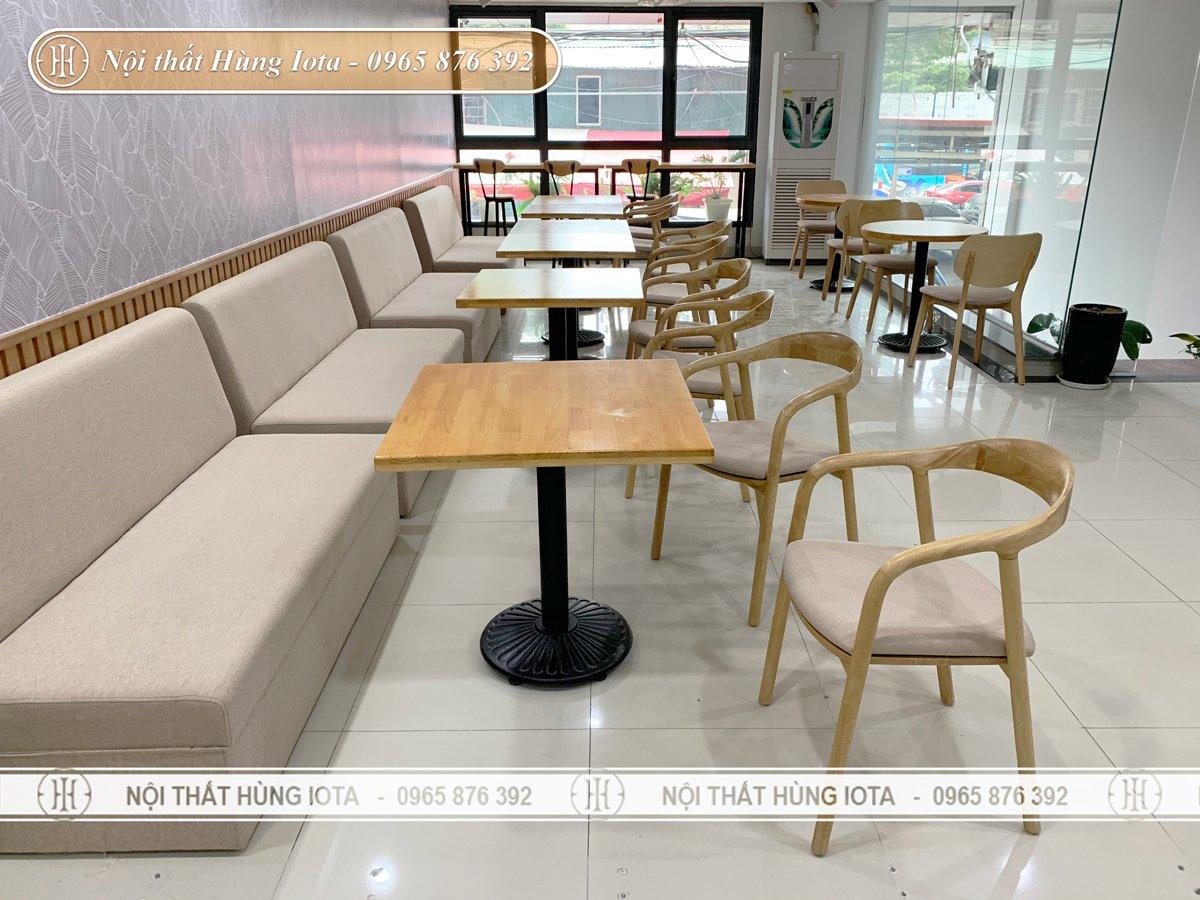 Cung cấp nội thất gỗ cho các quán cafe