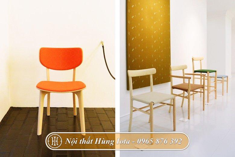 Ghế gỗ decor thiết kế theo yêu cầu
