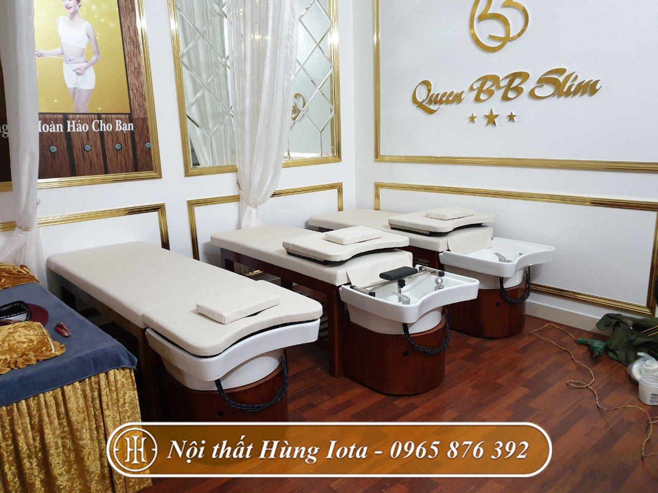 Giường gội đầu 2 trong 1 tại Bắc Ninh