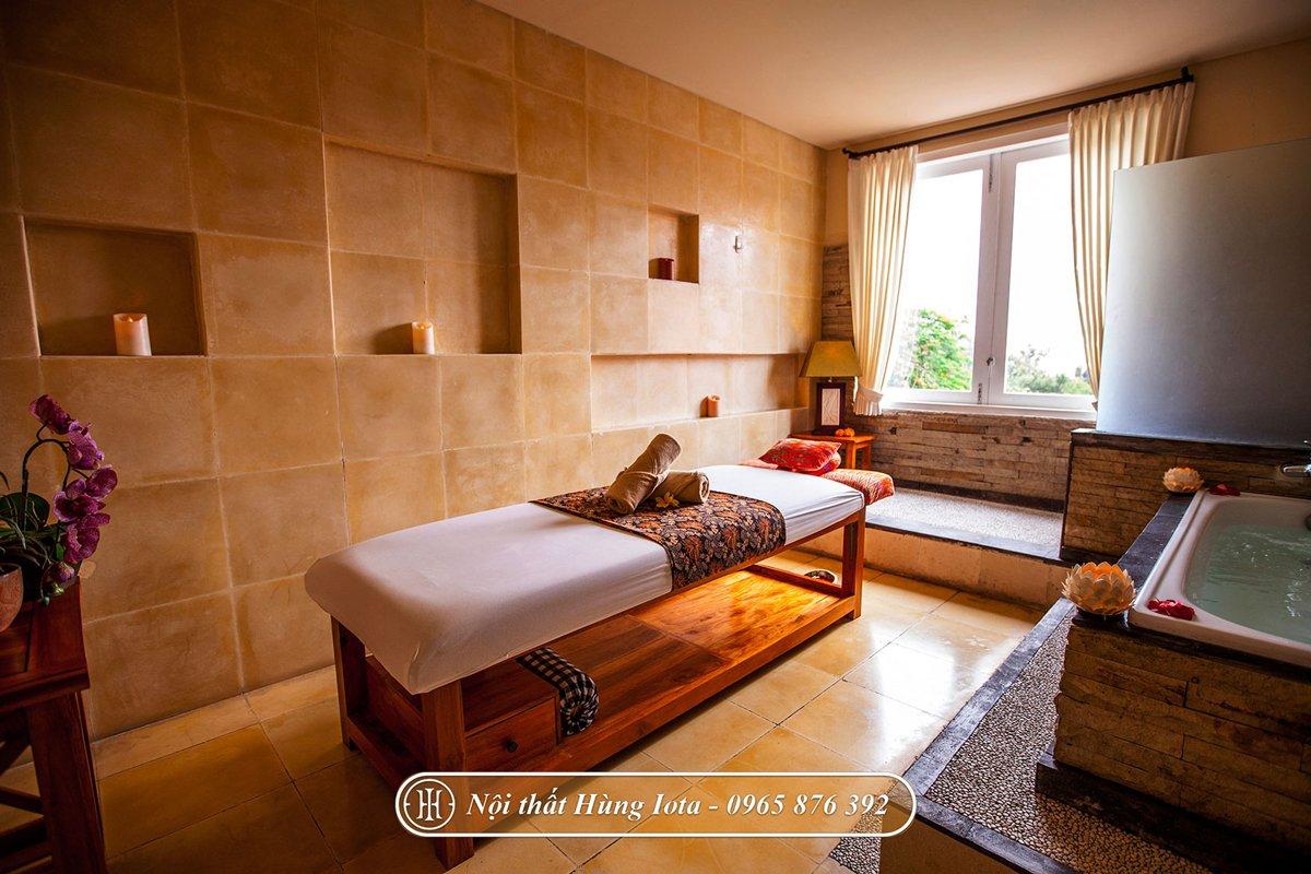 Giường massage cho khách sạn cao cấp