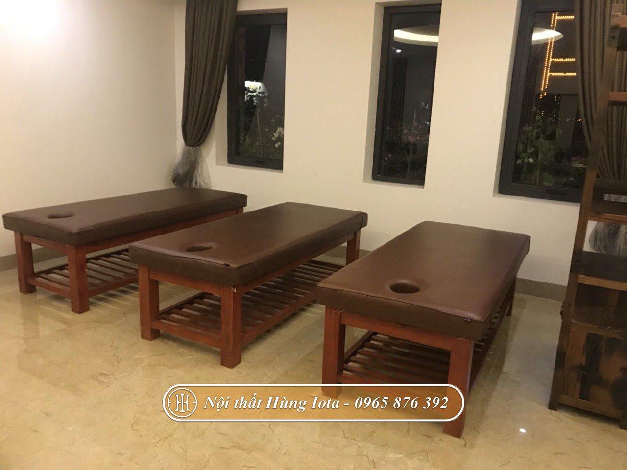 Giường massage giá trực tiếp tại xưởng