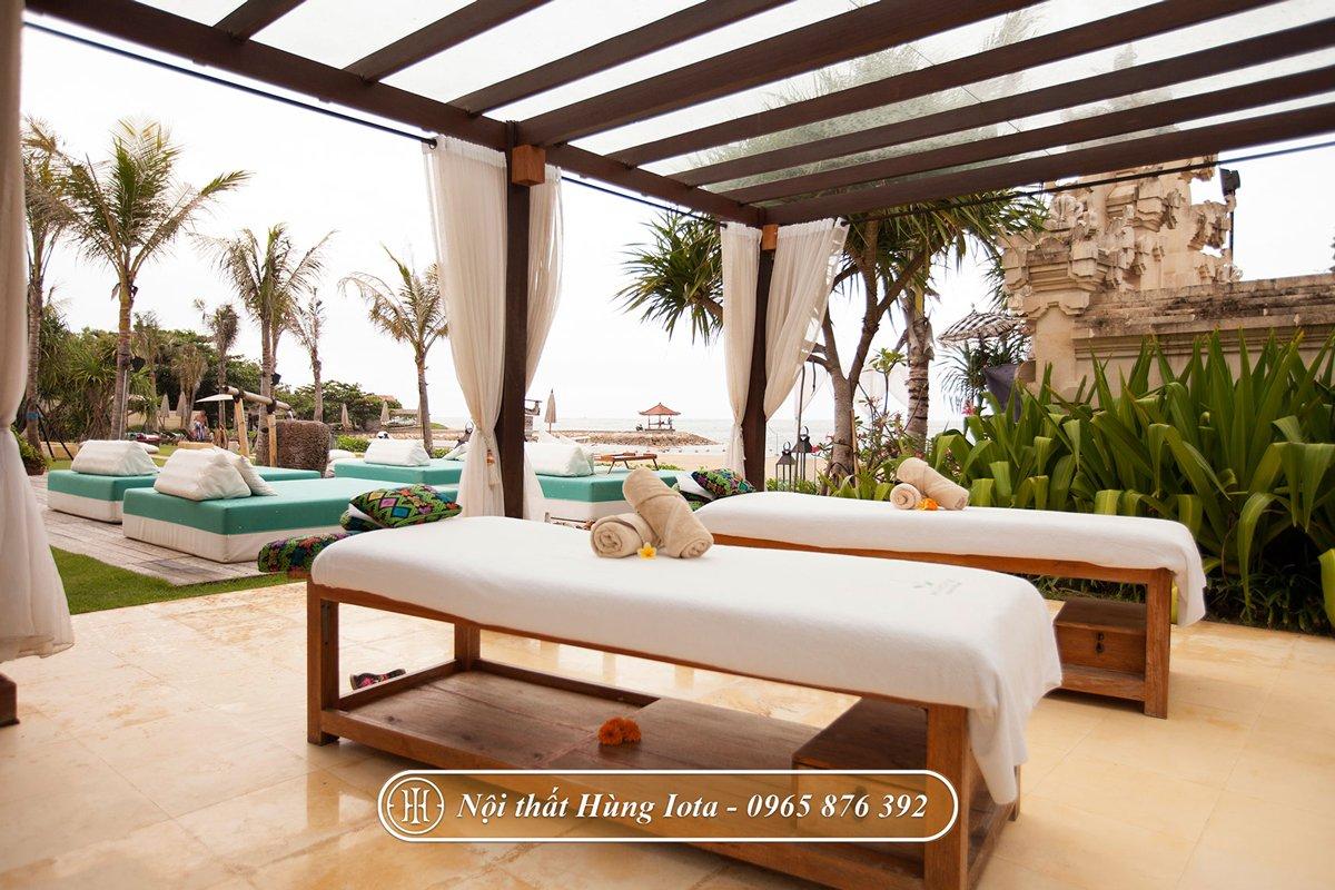 Giường massage thiết kế theo yêu cầu cho các khách sạn