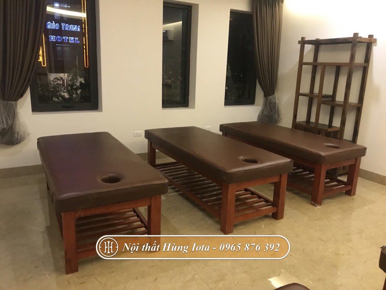 Hệ thống giường massage đẹp chất lượng