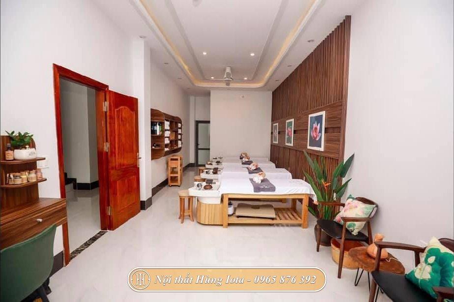 Không gian spa chuyên nghiệp tại Điện Biên