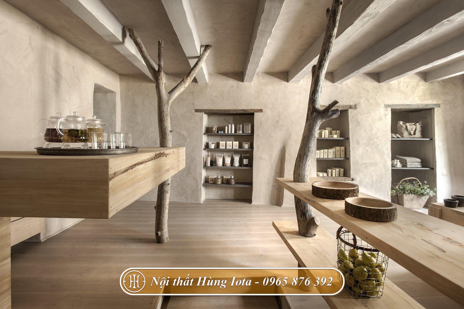 Không gian spa mang phong cách cổ điển