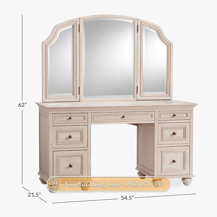 Kích thước bàn trang điểm tân cổ điển