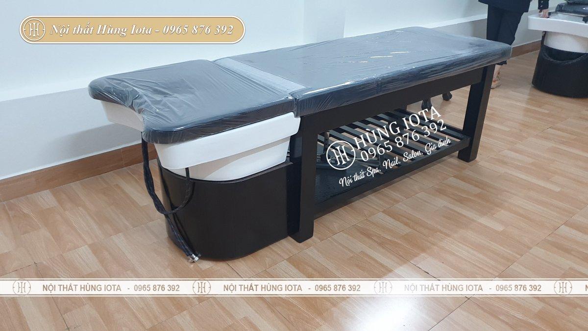 Lắp đặt giường gội đầu dưỡng sinh cho spa tại Quảng Ninh