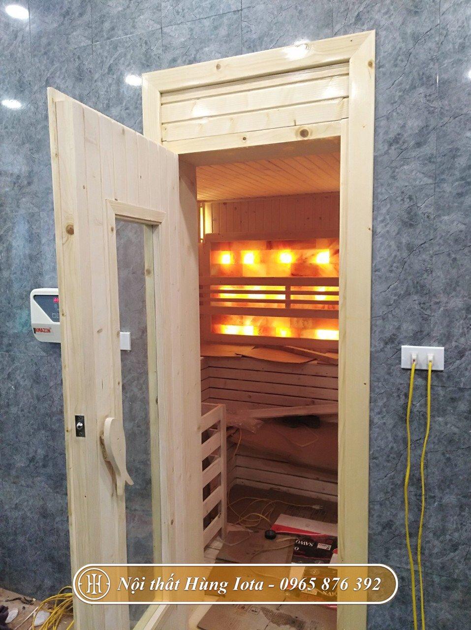 Phòng xông hơi đá muối nóng có nhiều công dụng cho sức khỏe