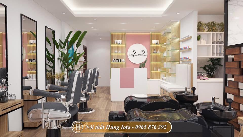 Spa kết hợp salon tóc chuyên nghiệp