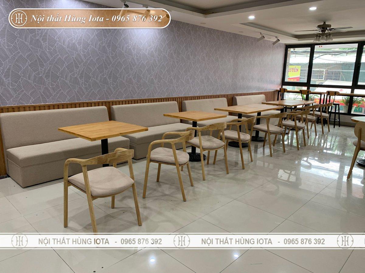 Thiết kế nội thất cafe trọn gói theo yêu cầu