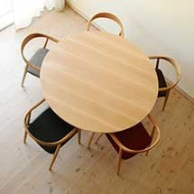 Bàn ăn gia đình tròn ghế Neva decor giá rẻ trực tiếp tại xưởng
