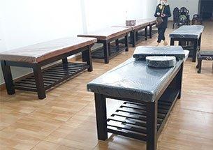 Thumb lắp đặt nội thất spa ở Quảng Ninh màu nâu đen