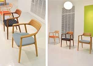 thumb mẫu ghế gỗ decor nhiều màu sắc