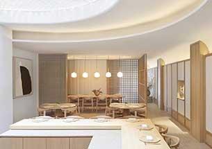 thumb thiết kế nhà hàng theo kiểu Nhật Bản