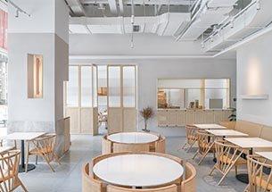 thumb thiết kế nội thất của hàng cafe