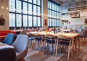 Thumb thiết kế quán ăn decor kiểu Anh đẹp sang trọng
