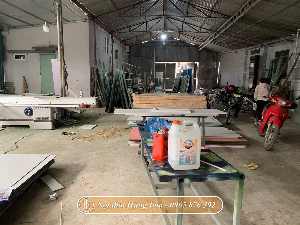 Xưởng sản xuất nội thất chuyên nghiệp hiện đại