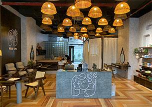 Thumb lắp đặt nội thất spa màu óc chó ở Đống Đa, Hà Nội