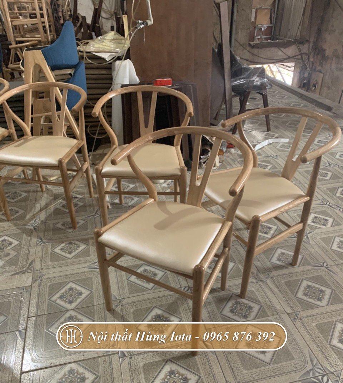 Ghế gỗ decor chất lượng sản xuất tại xưởng