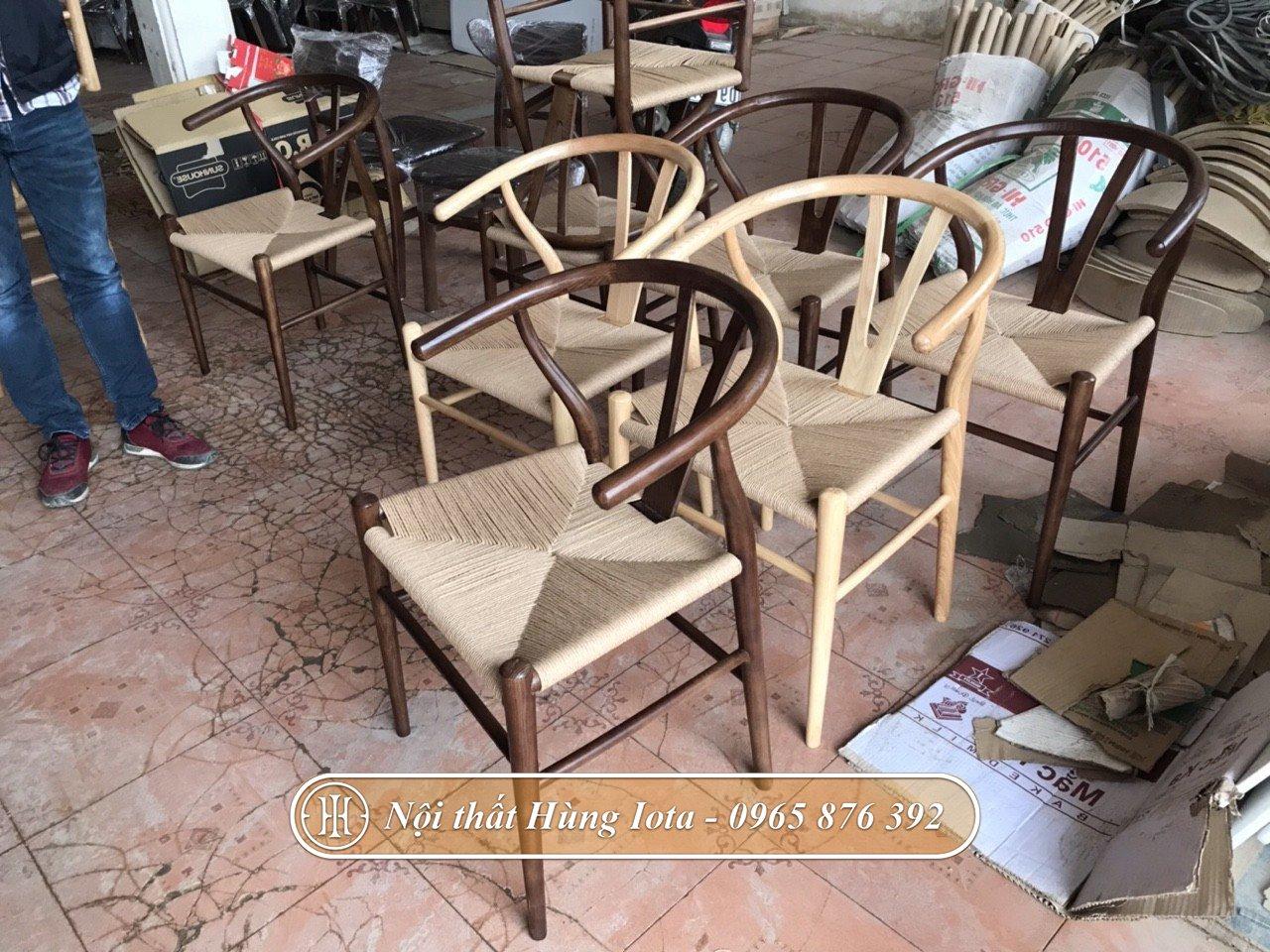 Ghế gỗ decor chất lượng tiêu chuẩn