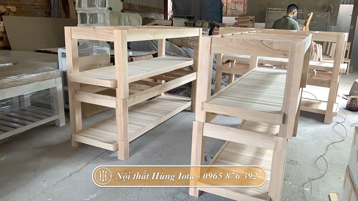 Giường massage body chất lượng tiêu chuẩn tại xưởng