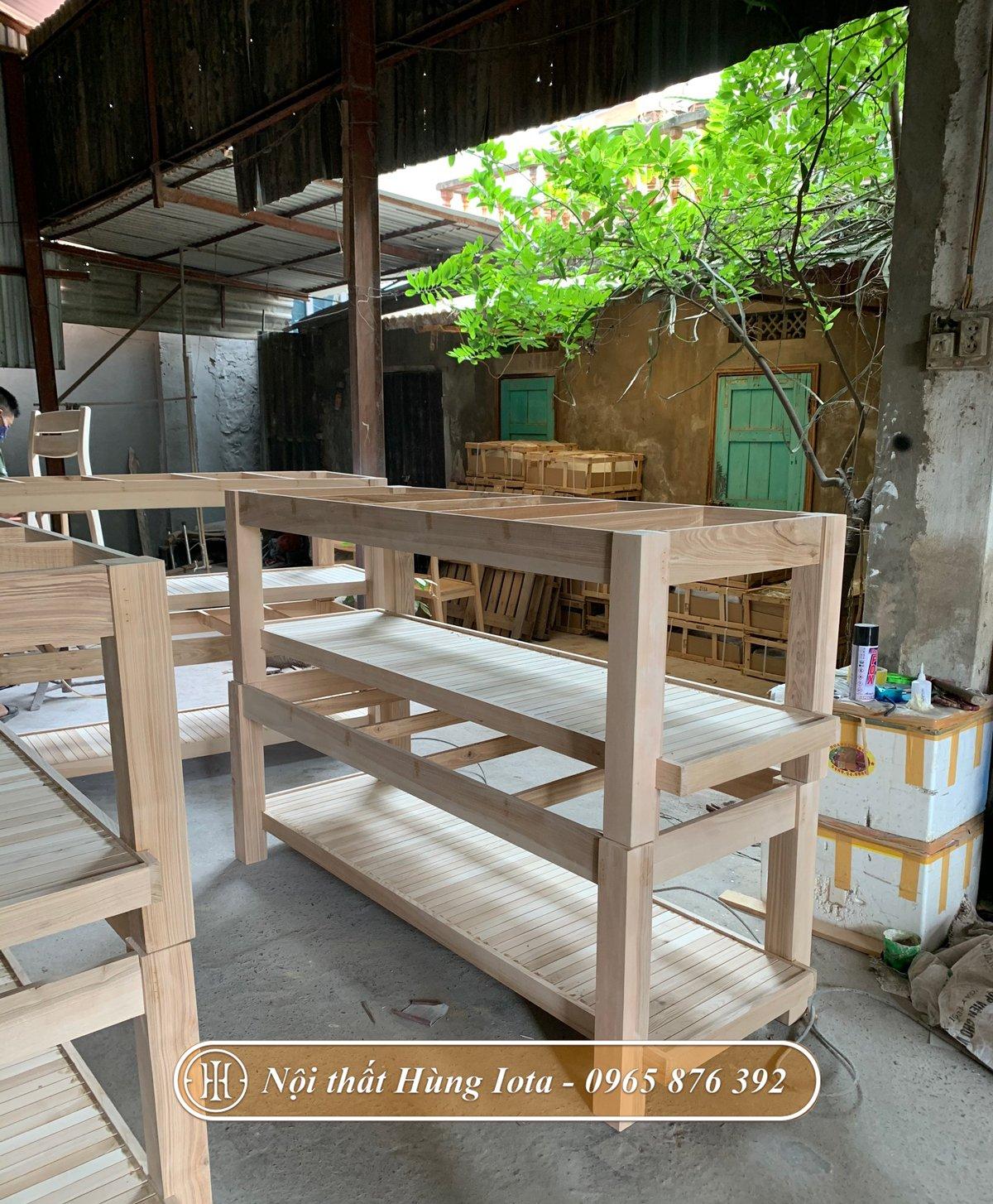 Giường spa giá rẻ sản xuất tại xưởng