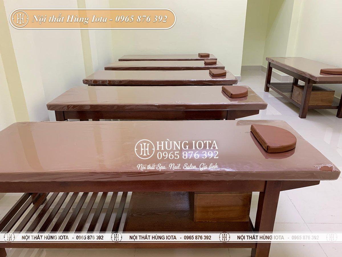 Hệ thống giường massage cho Hội người mù