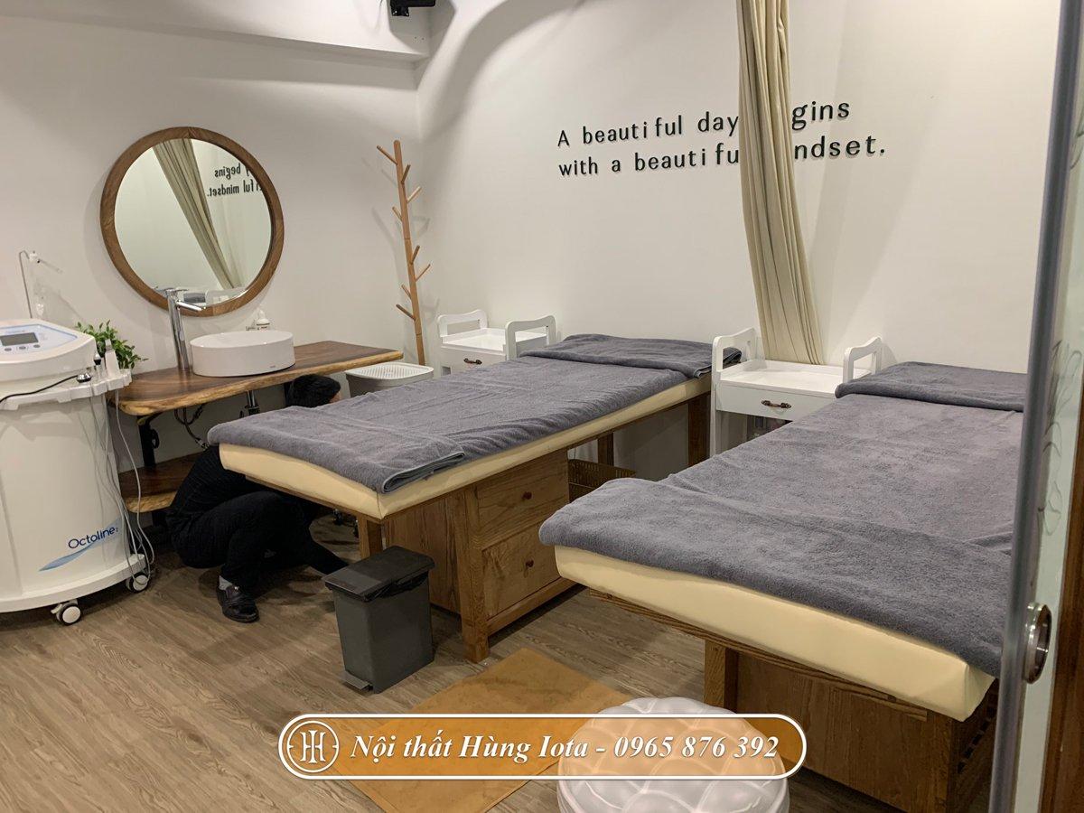 Hệ thống giường spa tại The M.O.C
