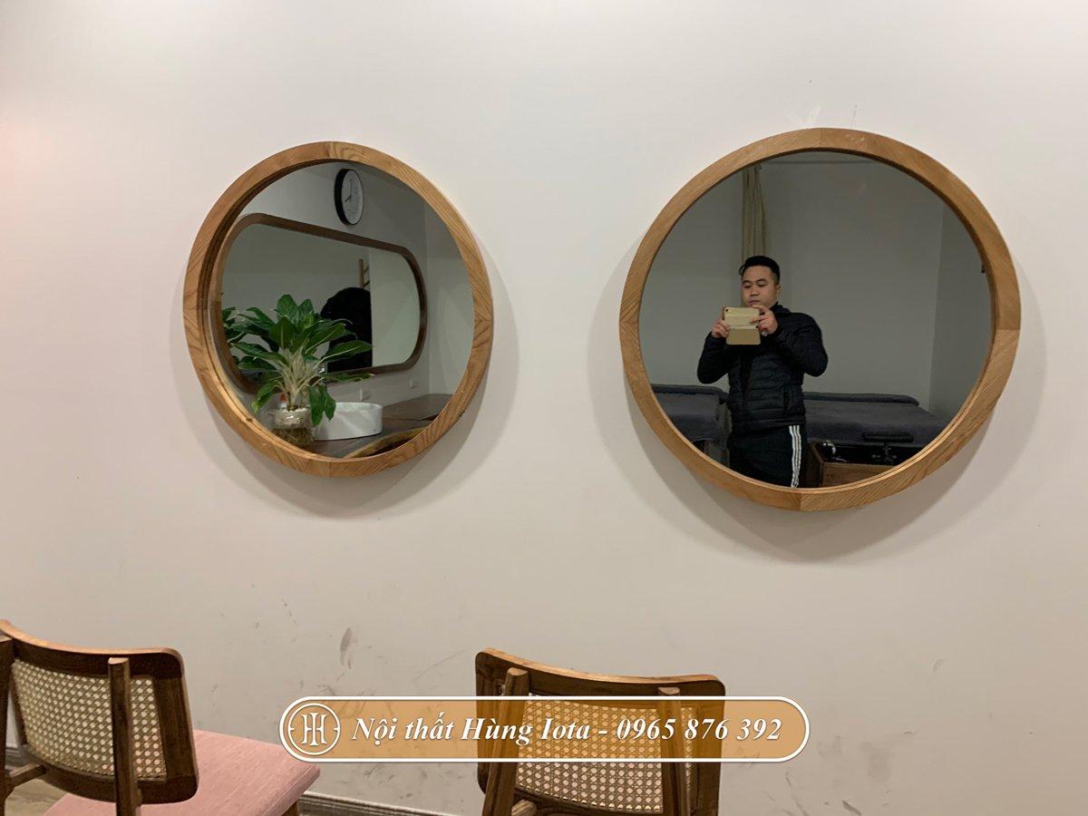 Hệ thống gương tròn decor giá rẻ