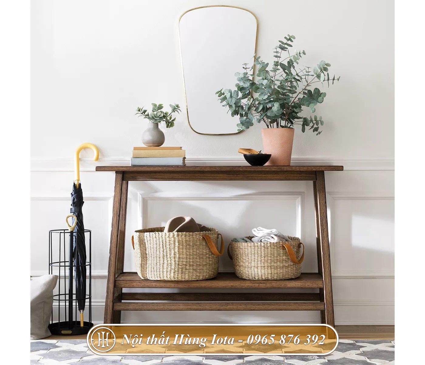 Kệ gỗ decor phù hợp mọi không gian