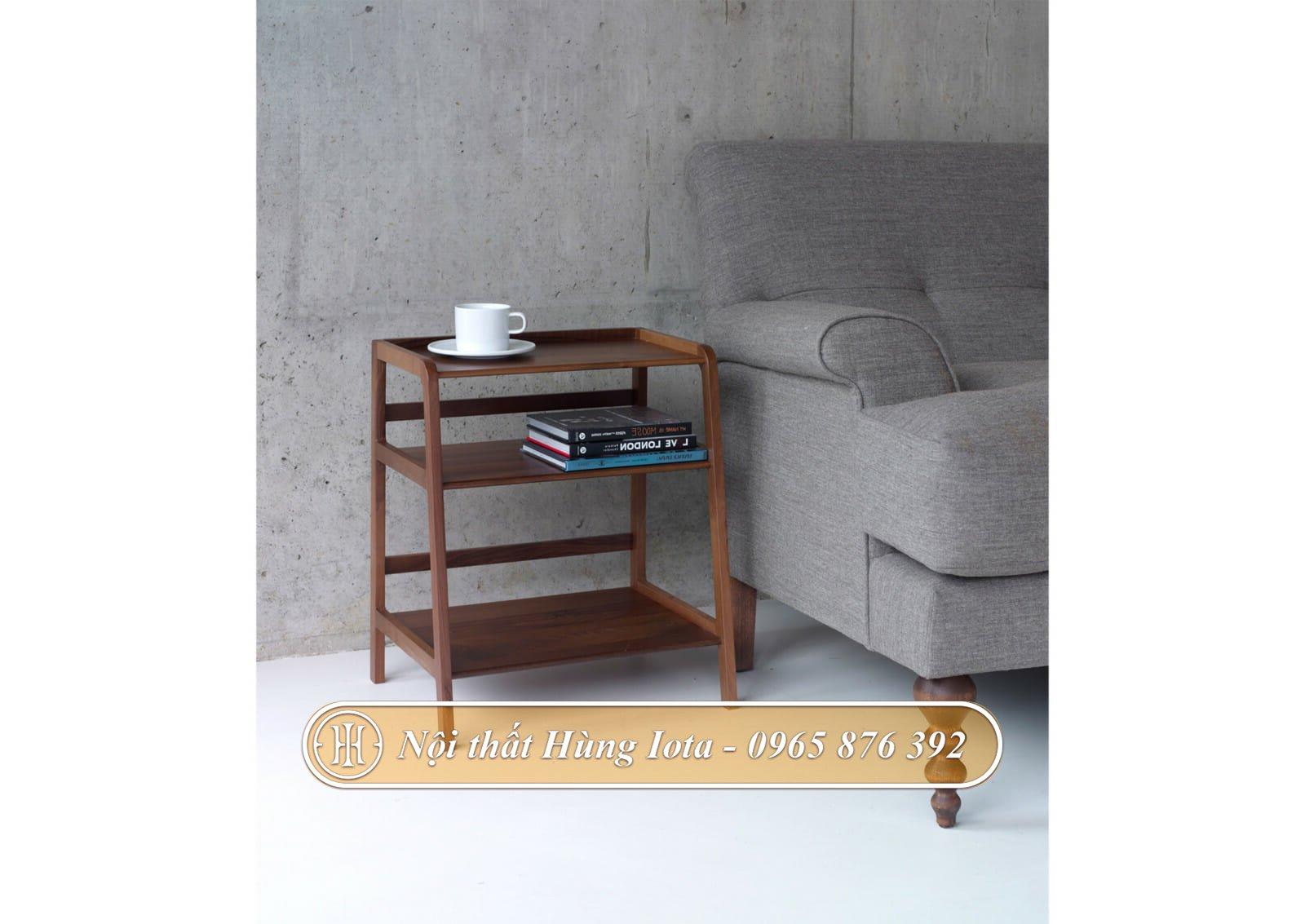 Kệ gỗ decor phù hợp nhiều không gian