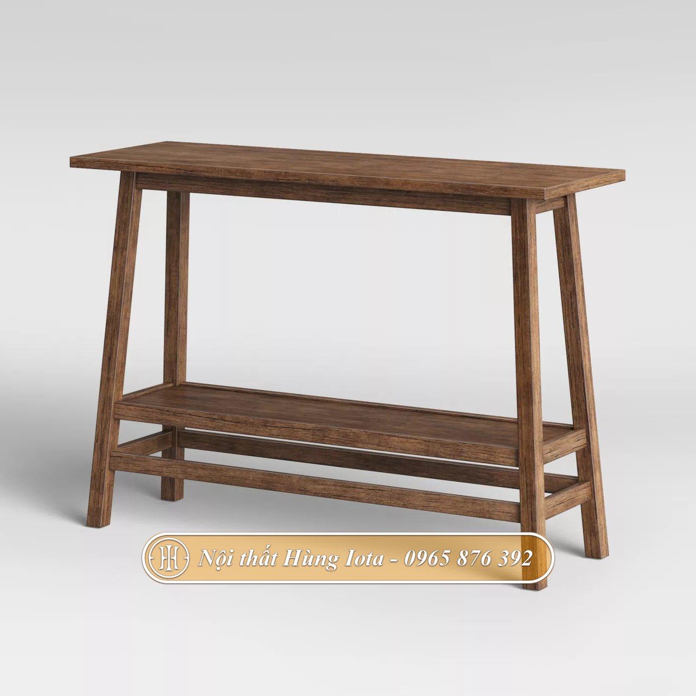 Kệ gỗ hình thang giá rẻ chất lượng