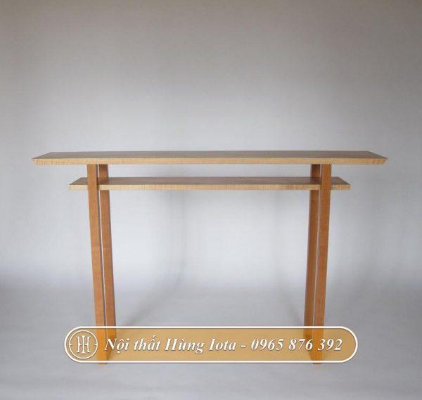 Kệ gỗ thiết kế đơn giản bắt mắt