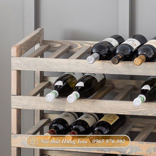 Kệ trưng bày rượu cho gia đình hay quán bar