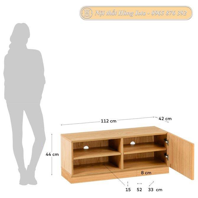 Kích thước tủ đựng đồ 4 ngăn