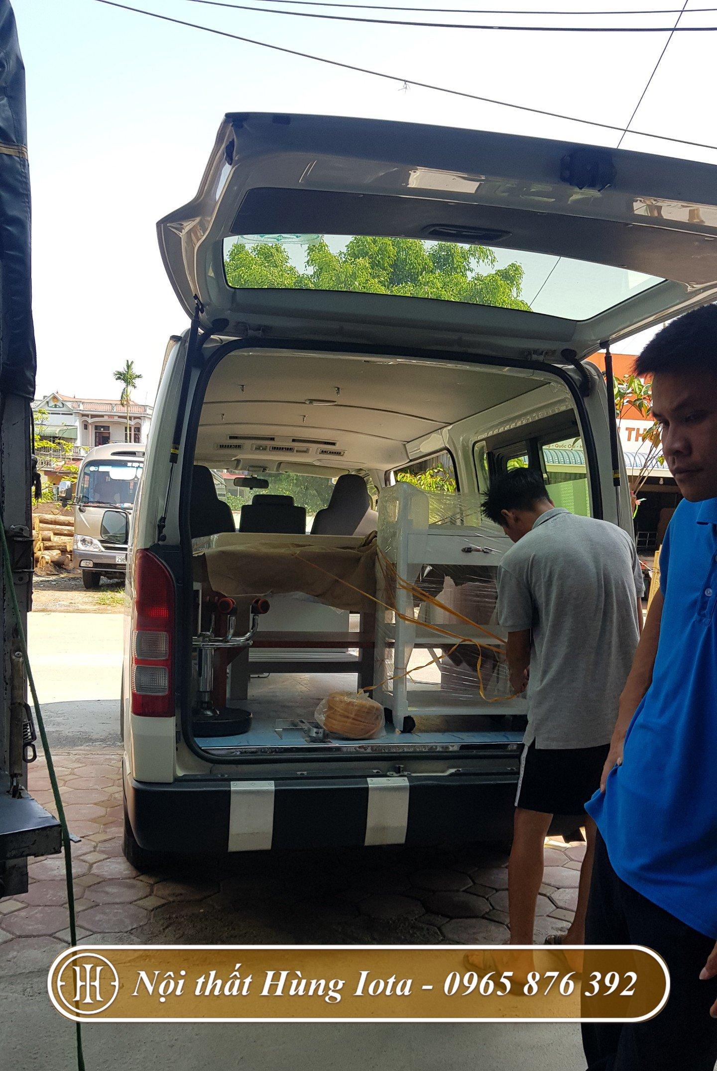 Lắp đặt giường châm cứu bấm huyệt cho bệnh viện y dược ở Vĩnh Phúc