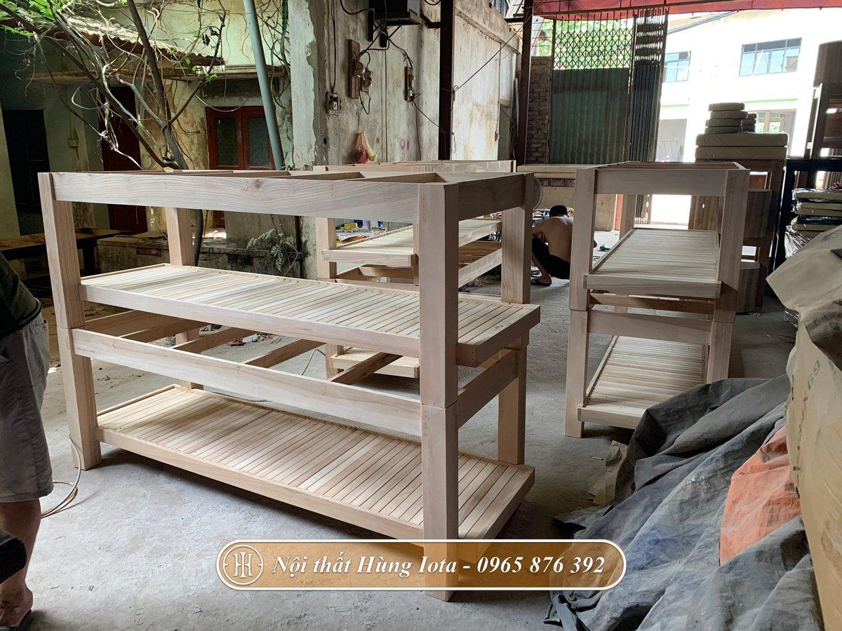 Quy trình sản xuất giường gội chuyên nghiệp