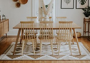 thumb bàn ghế ăn gia đình decor