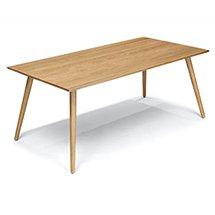 Bàn gỗ hình chữ nhật decor làm bàn ăn gia đình BGD01