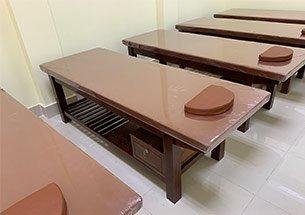 thumb giường massage cho Hội người mù Bắc Ninh