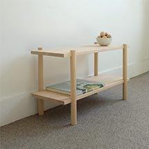 Kệ gỗ nhỏ hai tầng phù hợp nhiều không gian KG09