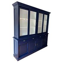 Tủ đựng đồ decor spa màu xanh navy công dụng đa năng giá tốt TSP65