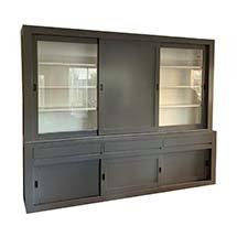 Tủ đựng quần áo cửa trượt màu xám giá tốt nhất thị trường TSP75